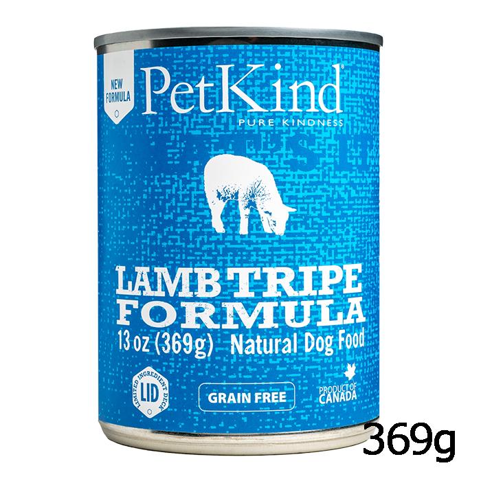 新鮮なラムとターキーのレシピ ペットカインド 春の新作続々 ザッツイット 缶詰 NEW ARRIVAL ラムトライプ 369g Tha's ウェットフード It Pet Kind