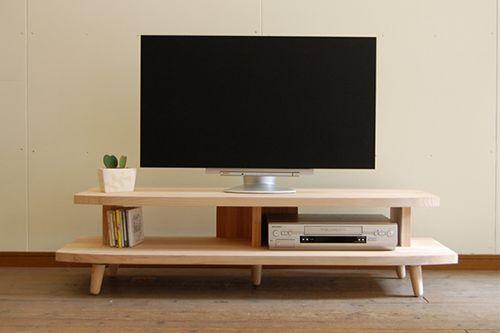 【最大4000円OFFクーポン配布中】 テレビボード すぎはね 130 燻煙杉材送料無料 国産テレビ台 家具のよろこび 【店頭受取対応商品】