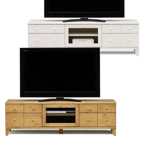 【6/4 20時~10%OFF】 テレビボード ボックス 159 パイン材 国産 家具のよろこび 【店頭受取対応商品】