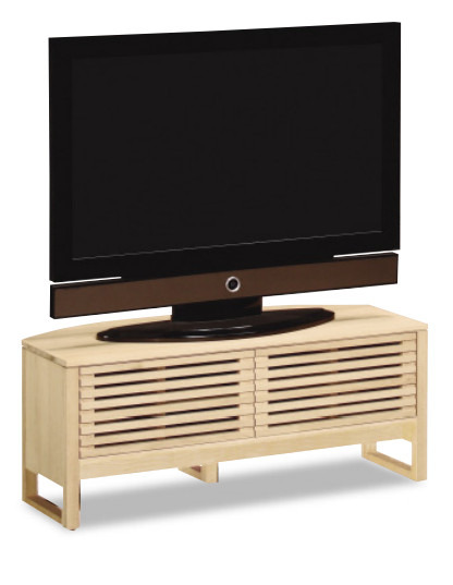 【4/12まで店内全品P10倍】 カリモク スリットボード コーナー HU3653MK HU3653MS HU3653MH HU3653ME 幅105 送料無料 テレビボード テレビ台 家具のよろこび 【店頭受取対応商品】