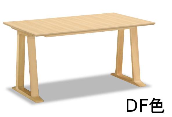 【6/1限定P11倍】 カリモク メラミン天板 ダイニングテーブル DA4980ZW DA4980DF DA4980T000幅1350 送料無料 4人掛け コンパクト 家具のよろこび 【店頭受取対応商品】
