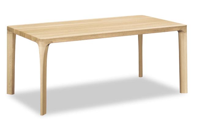 【8/9 1:59までエントリーで誰でも19倍】 カリモク ダイニングテーブル DD5740E000 幅165 天板40mmモデル 送料無料 家具のよろこび 【店頭受取対応商品】