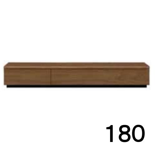 【6月20日頃お届け】 テレビボードMV 180 ウォールナット色 家具のよろこび 【店頭受取対応商品】