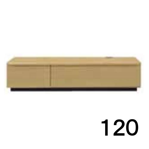【6月末頃お届け】 テレビボードMV 120 オーク色 家具のよろこび 【店頭受取対応商品】