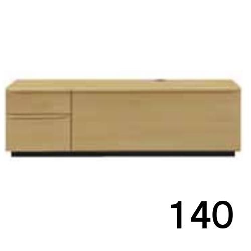 【P5倍&割引クーポン】 テレビボードMV 140 オーク色 2段タイプ 家具のよろこび 【店頭受取対応商品】