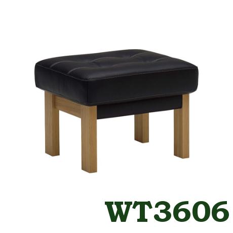 【6/6までP10倍】 カリモク 本革スツール WT3606E516 ファブリック布シートにも変更可能 送料無料 家具のよろこび 【店頭受取対応商品】