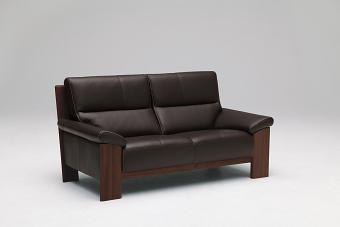 【P10倍&エントリーでPアップ】 カリモク 本革2Pロングソファー ZU4812K353 送料無料 家具のよろこび 【店頭受取対応商品】