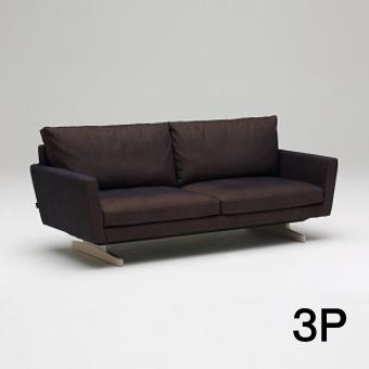 【6/6までP10倍】 カリモク 布3Pソファー UU8003Y547 送料無料 家具のよろこび 【店頭受取対応商品】