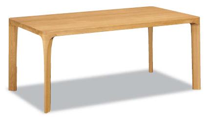 【P10倍&エントリーでPアップ】 カリモク オークムク材ダイニングテーブル DD5230MS幅1500 送料無料 家具のよろこび 【店頭受取対応商品】