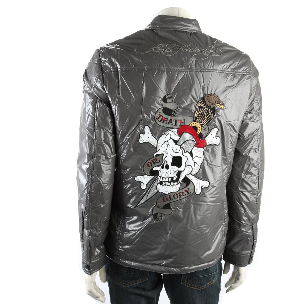 LA直輸入品 エドハーディー Ed Hardy メンズ ジャケット 中綿ジャケット ジャンパー