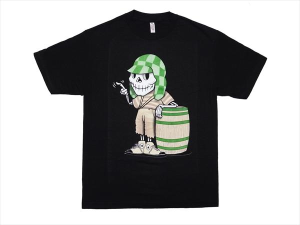 LA直輸入 ドクロ ガイコツ スカル メンズ Tシャツ キャラクター M〜XXXLサイズ