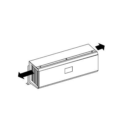【送料無料】ノーリツ ガス給湯器用 側方排気カバー S42 【H145.7×W442×D128mm】