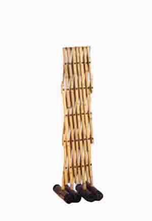 竹しきり弁慶2 【易フェンス 駐禁バリケード 和風パーテーション 花壇の柵 朝顔の支柱】