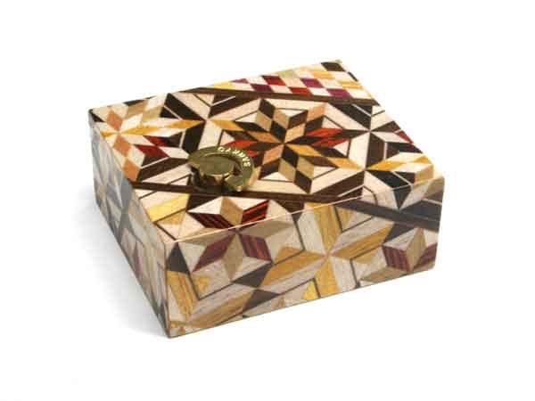 SALENEW大人気 箱根寄木細工 からくりオルゴール 曲名:星に願いを 新入荷 流行