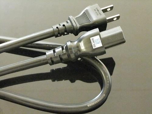 追加アイテム 本日の目玉 M-CR612SE-SYSTEM1用 Fundamental ファンダメンタル RPC10 電源ケーブル 電源コネクタ変換 新作販売