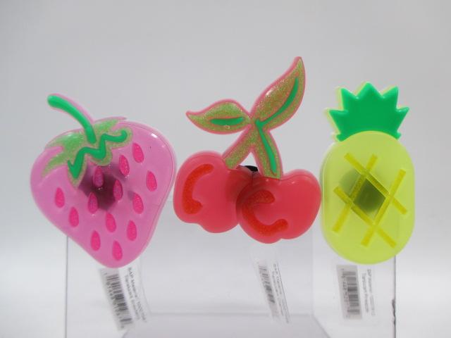 いちご さくらんぼ 大きい フルーツ 実物 果物 サンダルアクセサリー crocs クロックス ジビッツ 祝開店大放出セール開催中 チャーム 10007567 トランスルーセント Strawberry 10007612 パイナップル チェリー Pineapple Cherries Translucent 正規品 ストロベリー 10007568