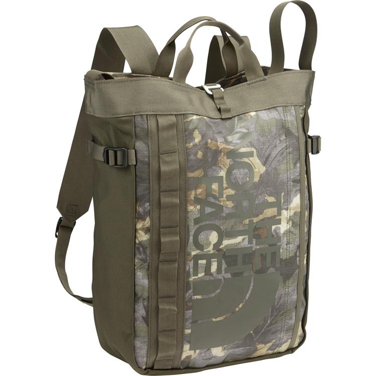 ザ・ノース・フェイス [THE NORTH FACE] BCヒューズボックストート [BC Fuse Box Tote] トートバッグ (ET)イングリッシュグリーントロピカルカモ NM81609-ET