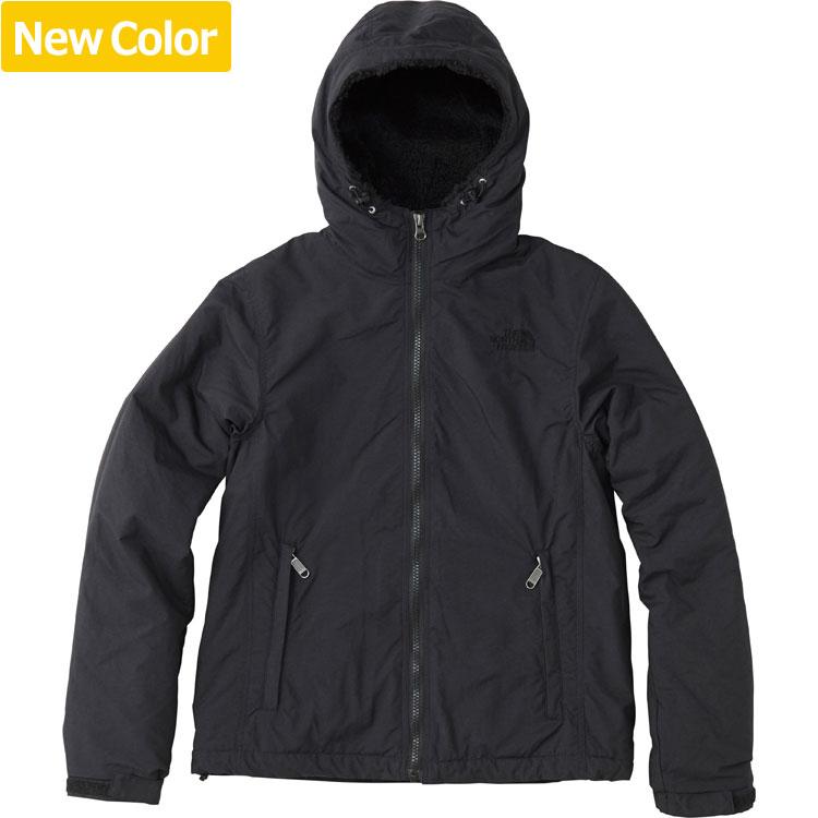 ザ・ノース・フェイス [THE NORTH FACE] コンパクトノマドジャケット(レディース) [Compact Nomad Jacket] (KK)ブラック2 NPW71633-KK