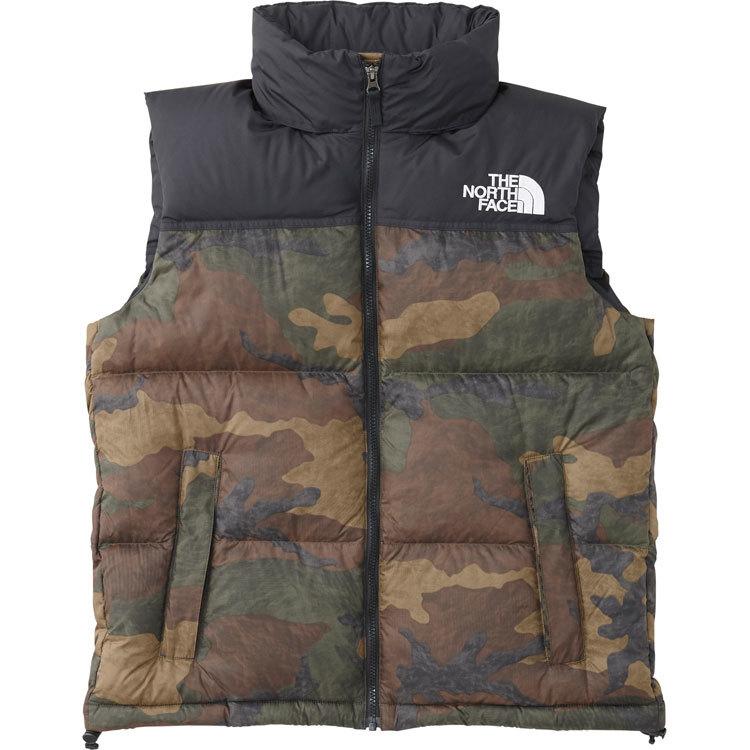 ザ・ノース・フェイス [THE NORTH FACE] ノベルティーヌプシベスト(メンズ) [Novelty Nuptse Vest] (DF)ダークフェイドウッドランド ND91844-DF