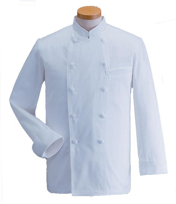 【ラッキーシール対応】白衣 マネージャーコックコート白衣SP/KD-442【】