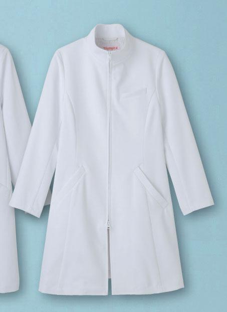 白衣 《Triumph》(トリンプ)女性用ドクターコート/ハーフ丈SP/TXM-004【】