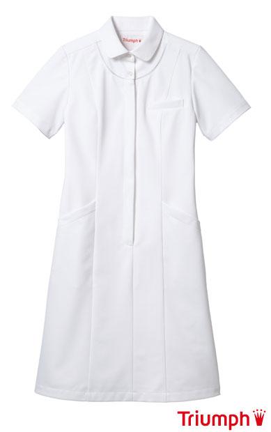 生まれのブランドで 白衣 《Triumph》(トリンプ)女性用、ナースワンピース白衣ホワイトSP/TPF-204-WH【】, 大きいサイズのメンズ服 ミッド:ac4de696 --- sptopf.de
