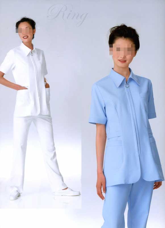 【ラッキーシール対応】白衣 【送料無料】《KEITA MARUYAMA》デザイン/女性用、ナース上衣白衣KM2102【】