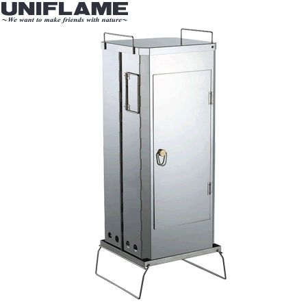 ユニフレーム フォールディングスモーカー FS-600 【送料無料】【☆】0