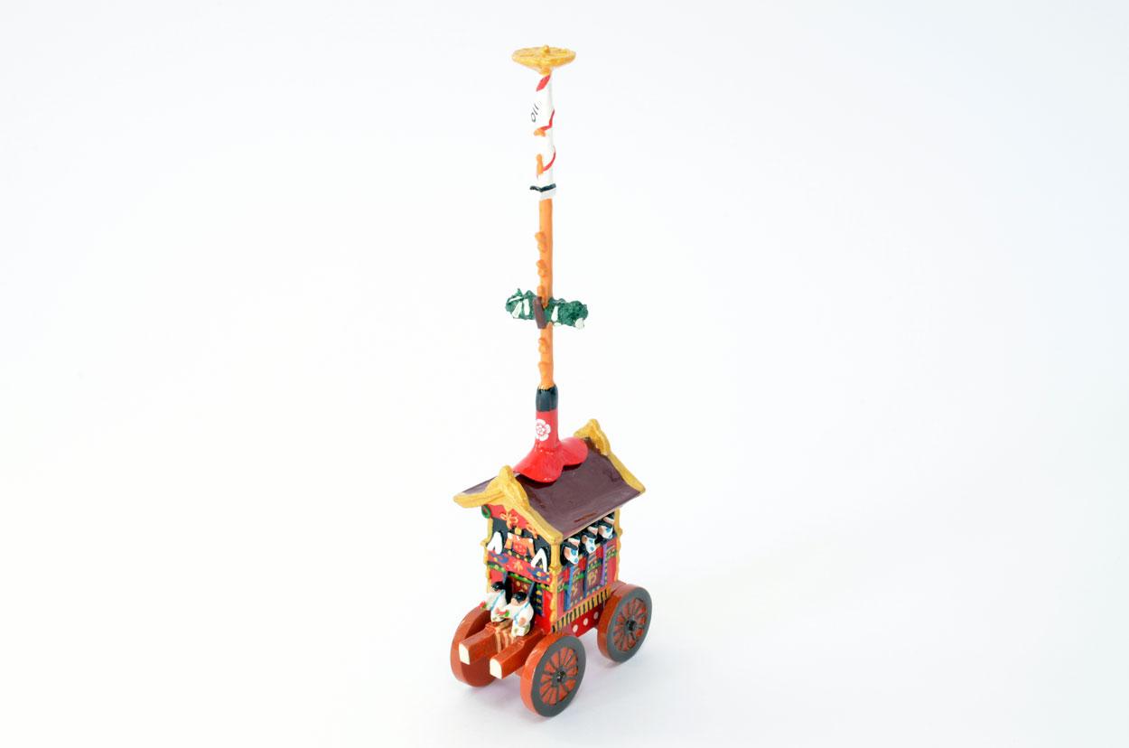 京都祇園祭の人気鉾です 小サイズです 京都 お金を節約 祇園祭 お見舞い 鉾 菊水鉾 小 ほこ ミニチュア