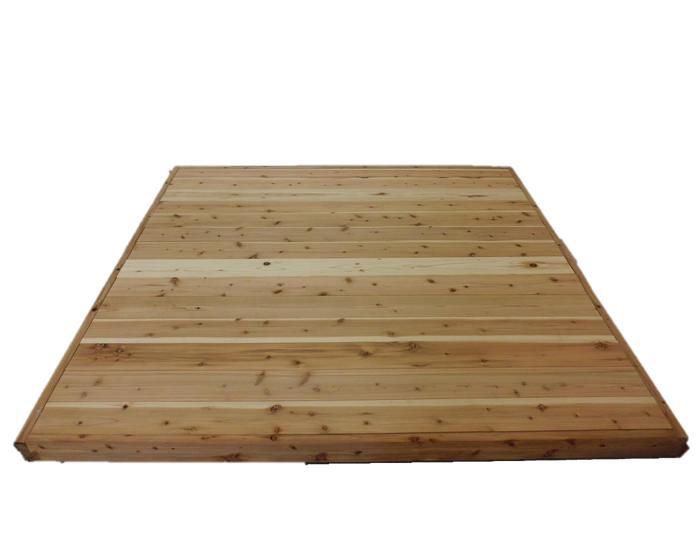 国産杉 [置き床](おきゆか)幅1950×奥行2010×高さ90ミリ畳2畳より少し広めです。