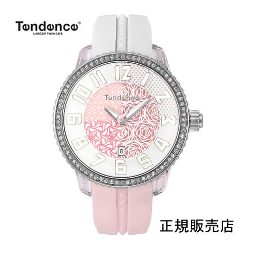 (あす楽)【正規4年保証】テンデンス 腕時計  TY930065 【VERY紹介新作コレクション】 レディー 【正規輸入品】4年保証【送料無料】※特製 七色に光るアンブレラプレゼント 05P04Mar19