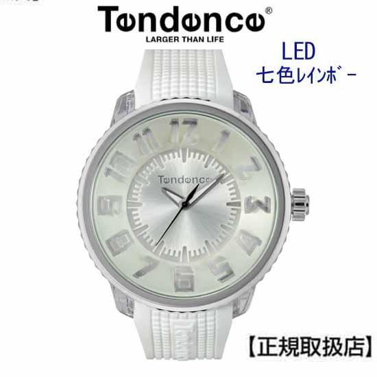 【正規品】テンデンス フラッシュ LED搭載 ホワイト (TENDENCE FLASH ) メンズ/レディー 兼用腕時計 腕時計 TY532003 【正規登録店】【送料無料】【】 05P04Jun19
