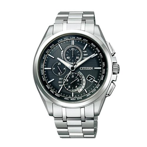 (あす楽) シチズン CITIZEN 腕時計 【アテッサ】 AT8040-57E 電波時計 ワールドタイム切り替え機能付き 金城 武 コマーシャルモデル 【ギフト包装】【名入れ】【送料無料】