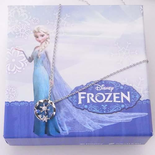 あす楽 [クリスマス限定][ディズニー] Disney Xmas限定 アナと雪の女王 雪の結晶 シルバー925 ペンダント VPCDS-20147