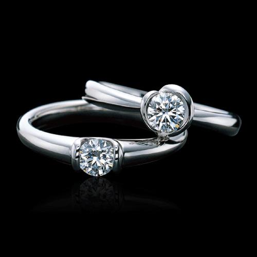 (世界一の輝き) ラザール ダイヤモンド ブライダル エンゲージリング・婚約指輪 (プラチナ900)SA005PR3 サイズ11号【画像右側】【オーダーの場合は納期4週間】【全国送料無料】10P03Sep16