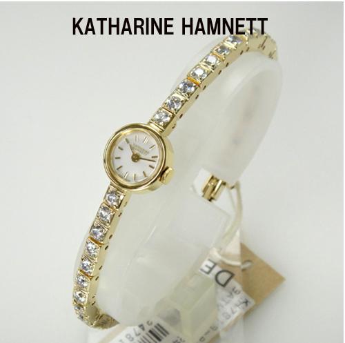 (あす楽)KATHARINE HAMNETT(キャサリン ハムネット) アクセサリーウォッチ  RECTANGLE/KH7813-B04D正規品 【新品】【アンティーク】【ホワイトデイ】【楽ギフ_メッセ入力】【送料無料】10P04Jun19