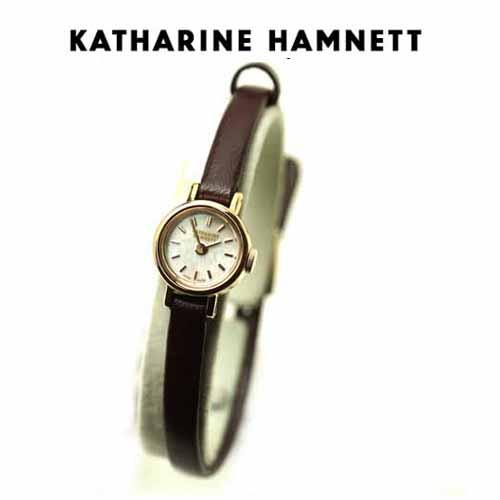 (あす楽) KATHARINE HAMNETT(キャサリン ハムネット) ウォッチ SMALL ROUND KH7711-04S正規品【新品】【送料無料】ホワイトデイ 05P04dec18