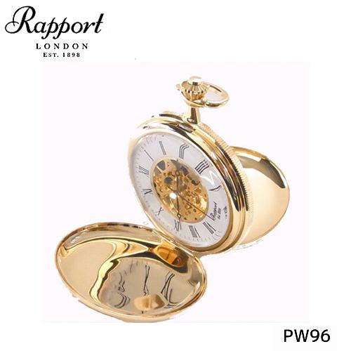 [ラポート] RAPPORT 両面開き懐中時計 手巻き式 PW96【正規輸入品】 【新品】【送料無料】¥60,480