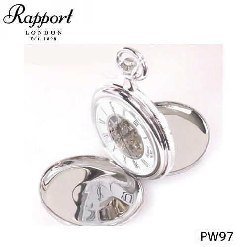 [ラポート] RAPPORT 両面開き懐中時計 手巻き式 PW97【正規輸入品】 【新品】【送料無料】¥60,480