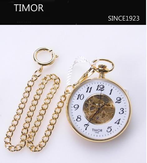 TIMOR(ティモール) ポケットウォッチ(懐中時計)TP103JA02 オープンケース手巻き懐中時計 メカニカル 【送料無料】\23,760