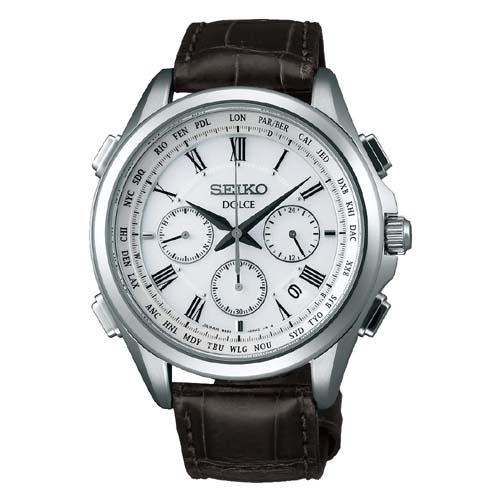 (あす楽)セイコー ドルチェ 電波ソーラ 腕時計  SADA039  メンズ