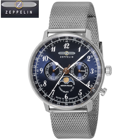 [正規輸入品] ZEPPELIN ツェッペリン LZ129 HINDENBURG ヒンデンブルク ドイツ製 腕時計7036M3 メンズ 【包装】【のし】【メッセ入力】【名入れ】【送料無料】10P04Jun19