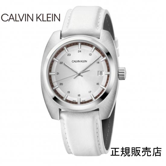 雑誌掲載モデル (正規品/3年保証付き) カルバン クライン アチーブ腕時計 K8W311L6 シルバーダイヤル  CALVIN KLEIN Achieve  メンズ 正規品 【送料無料】 【腕時計/刻印名入れ有料】