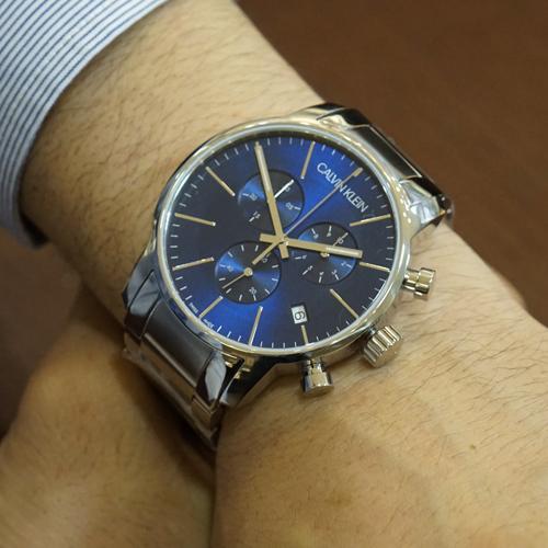 ddc0dabf3 ... Calvin Klein watch CALVIN KLEIN city chronograph model K2G2714N men  [with the regular international guarantee ...