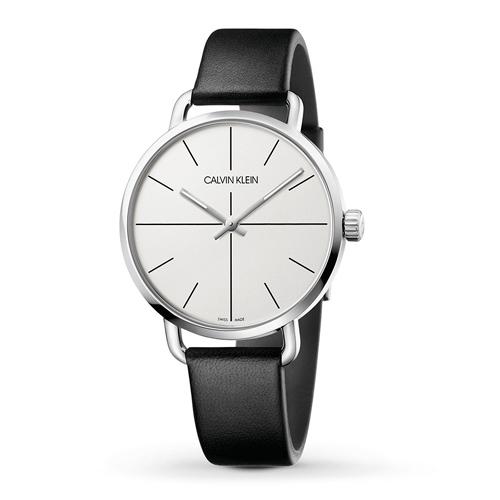 (あす楽)新発売 [正規品/3年保証付き] カルバンクライン  イーブン エクステンション 腕時計 シルバー文字板  メンズ 42mmサイズ CALVIN KLEIN even K7B211CY  【名入れ】【のし】【包装】【メッセ入力】
