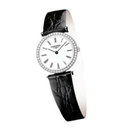 LONGINES ロンジン 腕時計 ラ グラン クラシック ドゥ ロンジン腕時計 L4.241.0.11.2 (レディ-ス)【ダイヤモンド入り】【送料無料】【名入れ】【のし】L42410112