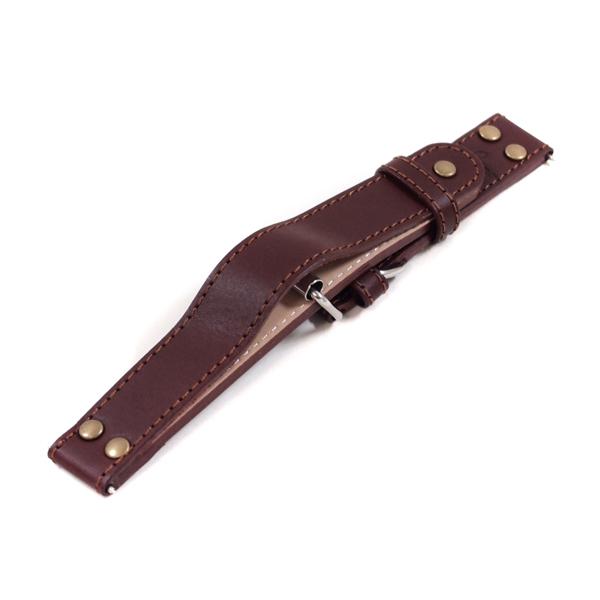 ラコ Laco 腕時計 専用バンド20mm ブラウンオーバージャケットベルト 401245.XL 【楽ギフ_のし】【楽ギフ_メッセ入力】【楽ギフ_名入れ】【新品】