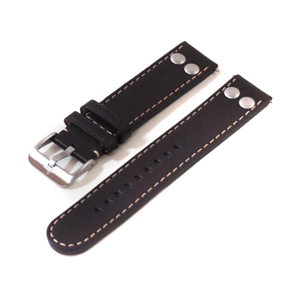 ラコ Laco 腕時計 専用バンド20mmダークブラウンレザーベルト 401873.XL 【楽ギフ_のし】【楽ギフ_メッセ入力】【楽ギフ_名入れ】【新品】【レターパックで発送】