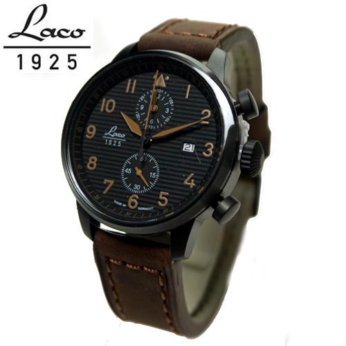 ラコ LACO 腕時計 861976 Engadin エンガディン  42mm クォーツクロノグラフ 国内正規品 90周年アニバーサリーモデル
