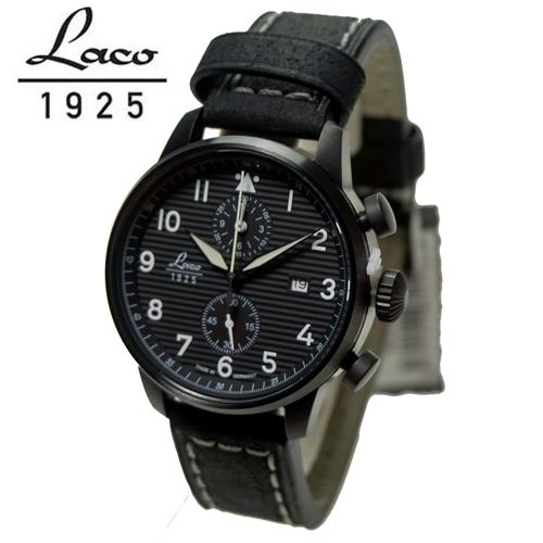 ラコ LACO 腕時計 861975 ローザンヌ  42mm クォーツクロノグラフ 国内正規品 90周年アニバーサリーモデル